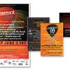 Cobbstock Music Festival Flyer and Postcards