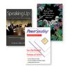 Three Book Covers For PowerSpeaking, Inc.